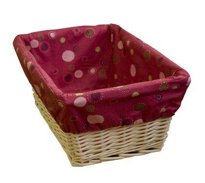 Raspberry Swirl Basket with Liner