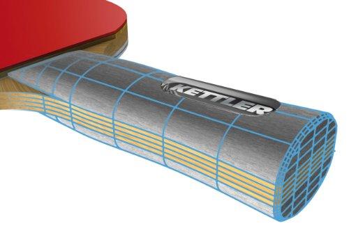 Kettler GTX Series Table Tennis Racquet original dhs hurricane hao 3 table tennis blade carbon blade table tennis racket racquet sports indoor sports wang hao use