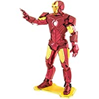 Iron Man Marvel Avengers Model Building Set By Metal Earth (Mms322)
