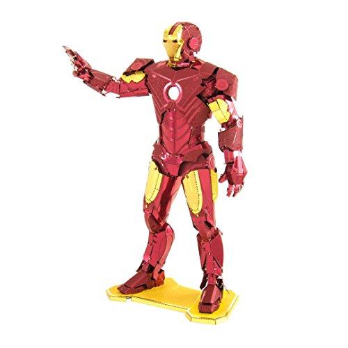 Fascinations - Metal Earth Avengers Iron Man Mark Iv Precolorato