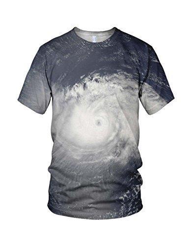 Stampa Integrale Hurricane Festival Alla Moda Uomo T-shirt - sintetico, Multicolore, 100% poliestere 100% poliestere, Uomo, XX-Large, Multicolore