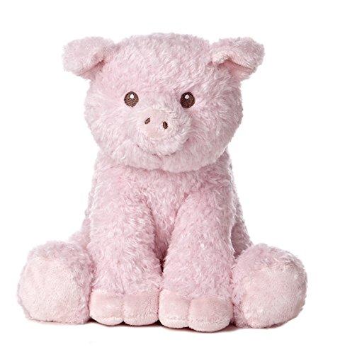 Aurora World Baby Noah's Ark Plush Toy, Pig
