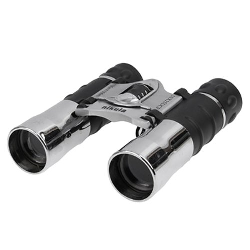 Generic Folding 100M / 1000M 10 X 25 Dcf Silver Telescope Binoculars With Neck Strap