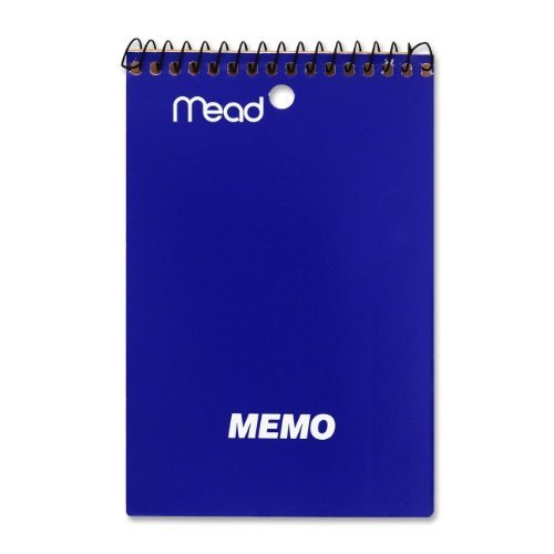 mead-memo-book-college-ruled-4x6-40-sheets-assorted-sold-as-2-packs-of-1-total-of-2-each-by-mead