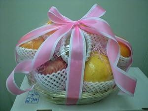 高級フルーツ詰め合わせ(平かご中)