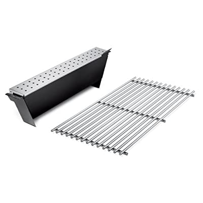 Weber Weber 7563 Genesis 300 Series Smoker Box - Stainless Steel Grate