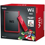 Nintendo Wii - Consola Mini, Color Rojo + Mario Kart - Edición Limitada