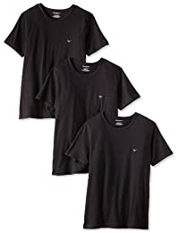 Emporio Armani Men's Crew-Neck Lift T-Shirt (Pack Of 3)