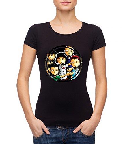 Limp Bizkit Music Band Women's MEGAN Crew Neck T-shirt Nero Small