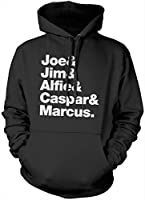 Joe, Jim, Alfie, Caspar and Marcus Hoody - Adults, Teens and Kids Vlogger Star Merch Hoodie - Various Colours and Sizes