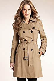 Pure Cotton Double Breasted Stormwear™ Trench Coat