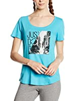 Nike Camiseta Manga Corta Tee-Scoop Photo Jdi (Cielo)