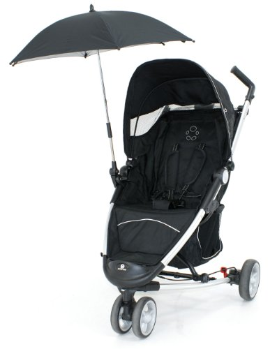 Petite Star Zia+ Stroller with Parasol (Jet Black)
