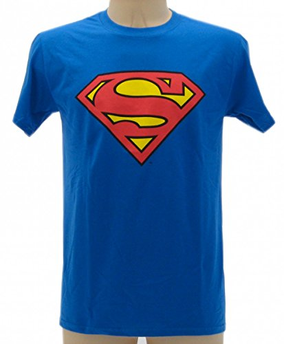 T-shirt Superman - Maglietta Originale Superman, L (adulti)