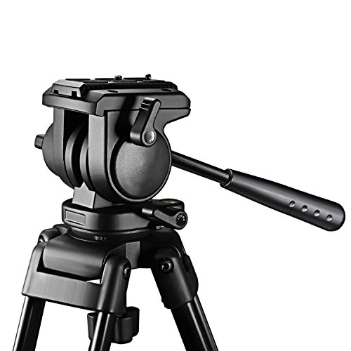 neewer 174 59 quot 150cm aluminum alloy tripod with 360 degree 1