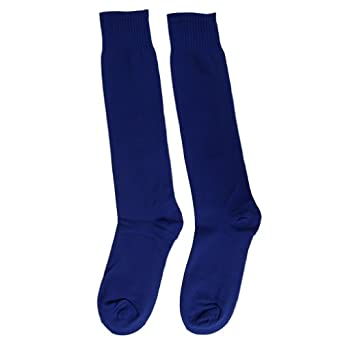 Buy EOZY 1PC Solid Color Sports Knee High Football Uniform Socks by Eozy