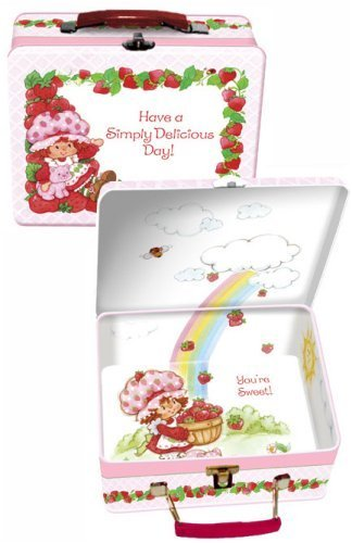 Strawberry Shortcake Tin Lunch Box with Interior Graphics - Buy Strawberry Shortcake Tin Lunch Box with Interior Graphics - Purchase Strawberry Shortcake Tin Lunch Box with Interior Graphics (Red Dog Toys, Inc., Toys & Games,Categories,Activities & Amusements)