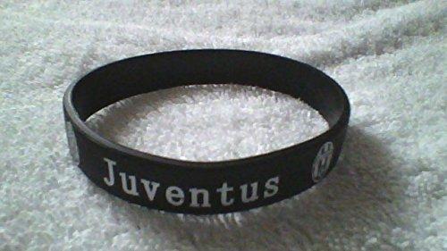 juventus-black-and-white-silicone-wristband