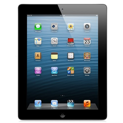Apple iPad with Retina Display MD517LL/A (32GB, Wi-Fi + AT&T, Black) NEWEST VERSION