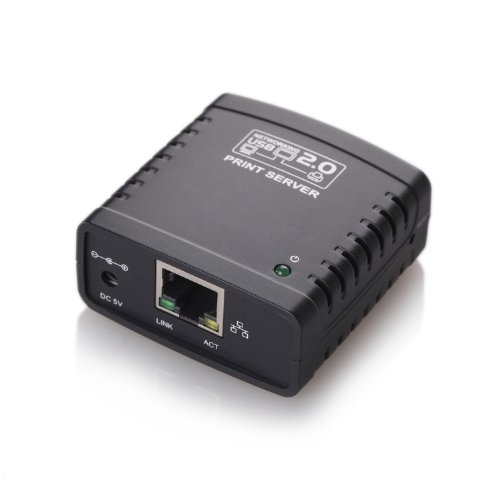 TeckNet® Networking USB LPR Print Server