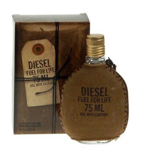 Diesel - Profumo, EDT Fuel For Life For Men, 75 ml