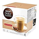 Nescafe DOLCE GUSTO Pods/ Capsules - CORTADO DECAF = 16 count (pack of 3)
