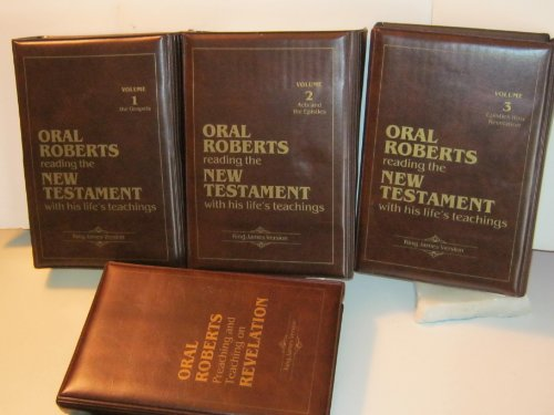 Oral Roberts Reading the New Testament with His Life's Teachings, 4 Volume Set (Vols. 1-3 (48 Cassettes) Covering the New Testament (King James Version) / Vol. 4 (5 Cassettes) Oral Roberts Preaching and Teaching on Revelation)
