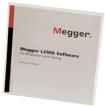 Megger 6111-764 LCMD Software CD for Use With Structured Cable Testers