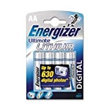 Energizer L91 Ultimate Lithium AA Size Batteries Pack