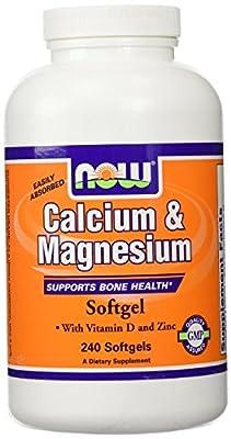 Now Foods Calcium & Magnesium + Vit D & Zinc