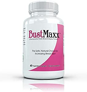 BUSTMAXX - The World's TOP RATED Breast Enlargement, Bust Enhancement Pills. Natural Female Augmentation That Works - 60 Capsules