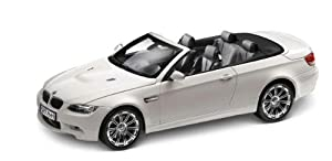 BMW Genuine Miniature M3 Convertible E93 Toy Model Car White (80 41 0 430 950)