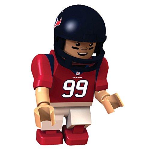 NFL Houston Texans J. J. Watt Gen 2 Mini Figure, Small
