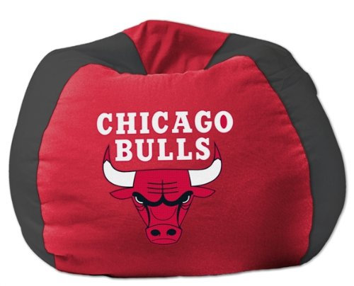 "Northwest Co. 1NBA/15800/0004/RET NBA 102"" Bean Bag Chair - Chicago Bulls at Amazon.com"