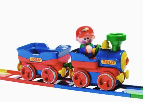 Tolo Toys First Friends Train Set Toy, Kids, Play, Children front-755090