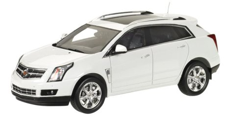2011 Cadillac Srx Crossover, 1/43 Scale Prefinished Car Model, Platinum Ice