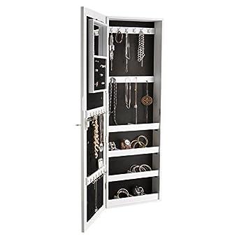 My Flair joyas espejo de pared armario en estilo rústico