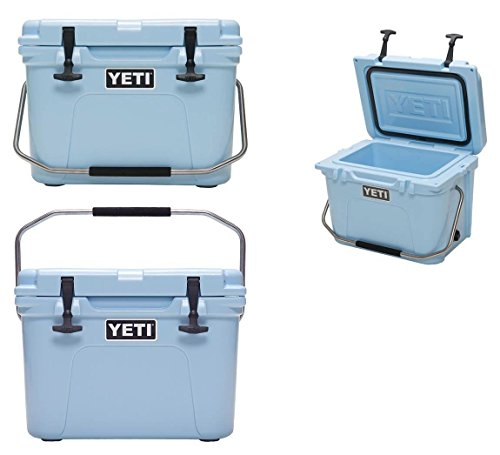 Yeti Roadie 20 Quart Cooler - Ice Blue (Yeti Ice Chest 20 Quart compare prices)