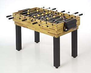 Schmidt Sportsworld Tischfußball Spieltisch 4 in 1, Buchedekor