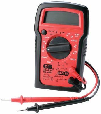 Gardner-Bender-GDT-3190-5-Function-Manual-Ranging-Digital-Multimeter