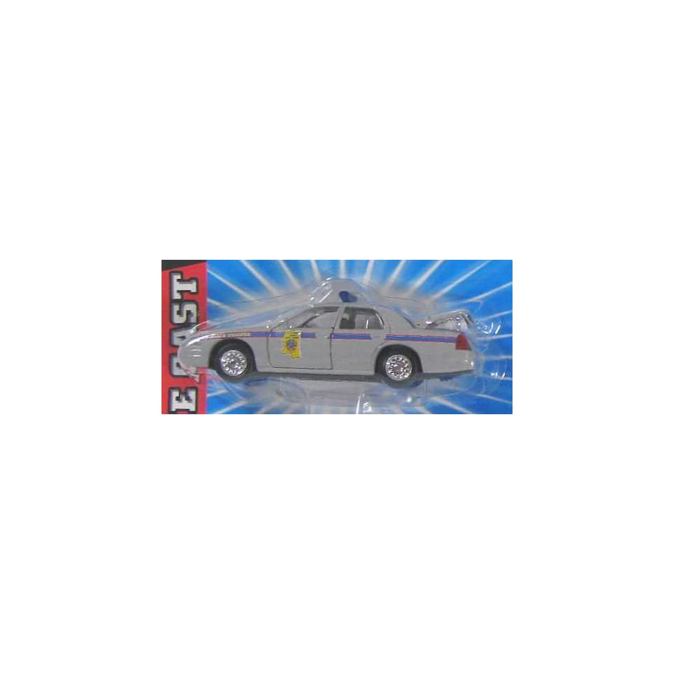 MISSISSIPPI HIGHWAY SAFETY PATROL STATE TROOPER Road Champs 1998 Ford Crown Victoria Police Series Die Cast Car 143