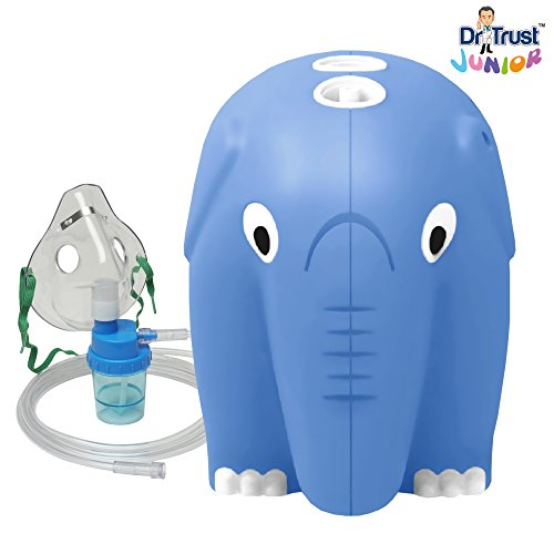 Dr Trust Junior Compressor Nebulizer Complete kit with Child and Adult mask  available at amazon for Rs.1649