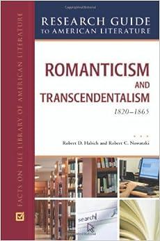 Romanticism and Transcendentalism, 1800–1900
