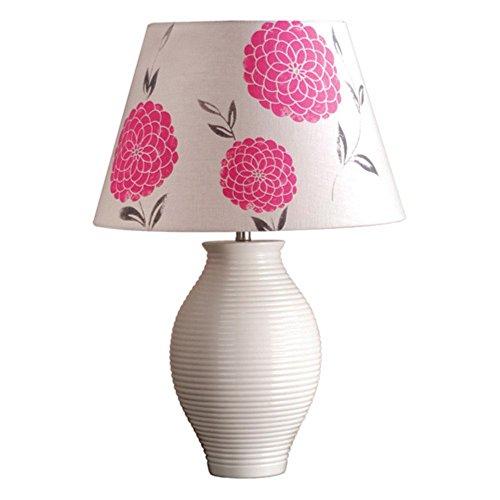 Laura Ashley Laura Ashley Erin Cherry Barrel Lamp Shade, Reds / Pinks, Linen Hardback
