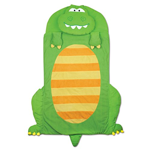 Stephen Joseph Dino Nap Mat, Green/Yellow