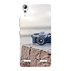 Enticing Vintage Camera Multicolor Back Case Cover for Lenovo A6000 Plus