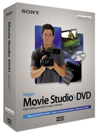 Sony Vegas Movie Studio + Dvd 7 Platinum Edition [Old Version] front-714483