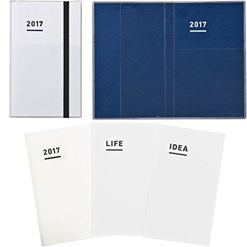 【Amazon.co.jp 限定】 コクヨ ジブン手帳 mini 2017 ファーストキット 11月始まり B6スリム ホワイト ニ-JFM1W-17AM