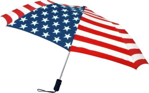 American Stars And Stripes Flag Pattern Auto Open Umbrella 20002USA
