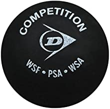 Dunlop Squash Playing Competition Ball Beginner-intermediate Level Racket Balls